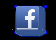 facebook icon shadow